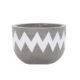 Vietnamese Hand-Painting Cement Plant Pots HPC013
