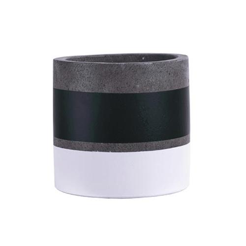 Vietnamese Hand-Painting Cement Plant Pots HPC014