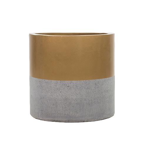 Vietnamese Hand-Painting Cement Plant Pots HPC017