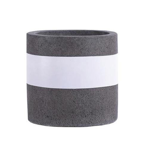 Vietnamese Hand-Painting Cement Plant Pots HPC019