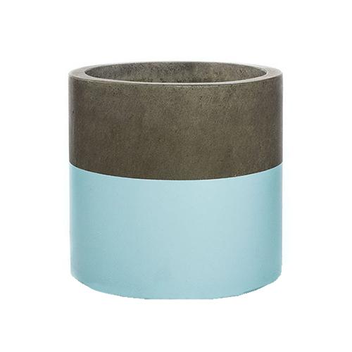 Vietnamese Hand-Painting Cement Plant Pots HPC024