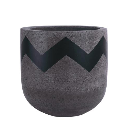 Vietnamese Hand-Painting Cement Plant Pots HPC060