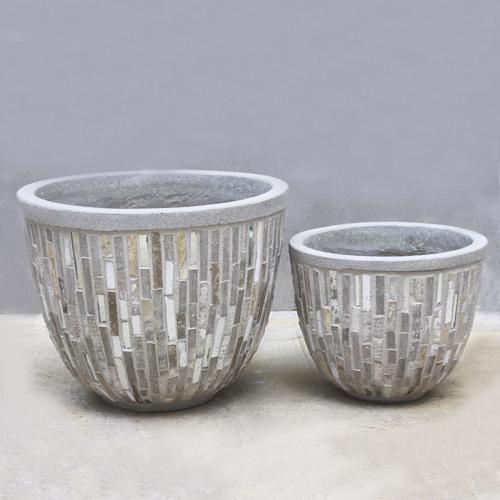 Stone Cement Pot – SCP007 – Vietnam concrete planter